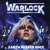 [Warlock Earthshaker Rock Album Cover]