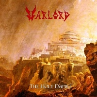 [Warlord The Holy Empire Album Cover]