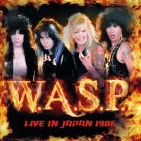 [W.A.S.P. Live in Japan 1986 Album Cover]