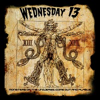 [Wednesday 13 Monsters of the Universe: Come Out and Plague Album Cover]
