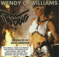 [Wendy O Williams WOW Album Cover]