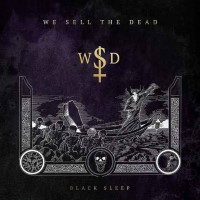 [We Sell the Dead Black Sleep Album Cover]