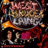 [West Bruce and Laing Live 'n' Kickin' Album Cover]
