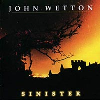John Wetton Sinister Album Cover