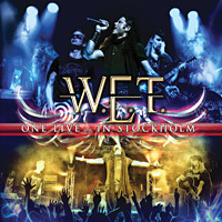 [W.E.T. One Live - In Stockholm Album Cover]