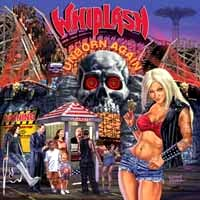 [Whiplash Unborn Again Album Cover]