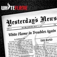 [White Flame Yesterday´s News Album Cover]