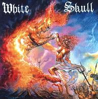 [White Skull I Won't Burn Alone Album Cover]