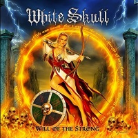 [White Skull Will of the Strong Album Cover]