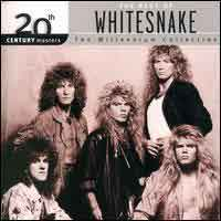 Whitesnake 20th Century Masters - The Millennium Collection Album Cover