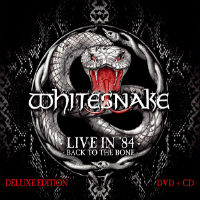 Whitesnake Live In '84: Back To The Bone Album Cover