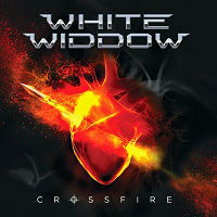 [White Widdow Crossfire Album Cover]
