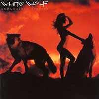 [White Wolf Endangered Species Album Cover]