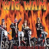 [Wig Wam 667... The Neighbour Of The Beast Album Cover]