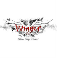 [Winger Better Days Comin' Album Cover]