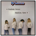 [Wireless Positively Human Relatively Sane Album Cover]