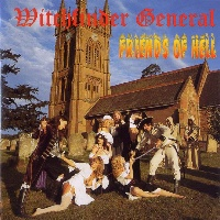 [Witchfinder General Friends of Hell Album Cover]