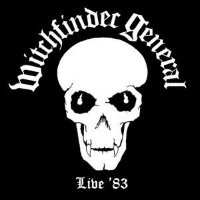[Witchfinder General Live '83 Album Cover]