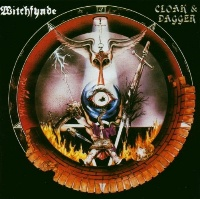 [Witchfynde Cloak and Dagger Album Cover]
