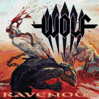 [Wolf Ravenous Album Cover]