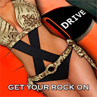 [X-Drive Get Your Rock On Album Cover]