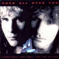 XL Rock All Over You Album Cover