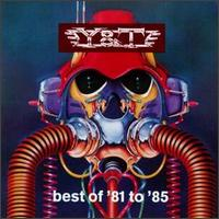 [Y and T Best of '81 to '85 Album Cover]