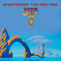 [Yes In the Present - Live from Lyon Album Cover]