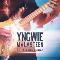 [Yngwie Malmsteen Blue Lightning Album Cover]