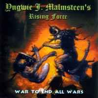 [Yngwie Malmsteen War To End All Wars Album Cover]