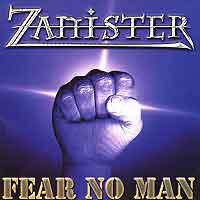 [Zanister Fear No Man Album Cover]
