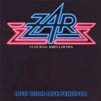 Zar Live Your Life Forever Album Cover
