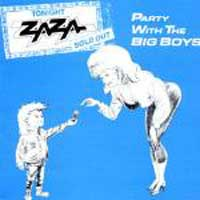 [Zaza Party With the Big Boys Album Cover]