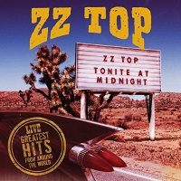 [ZZ Top Live! Greatest Hits From Around the World Album Cover]
